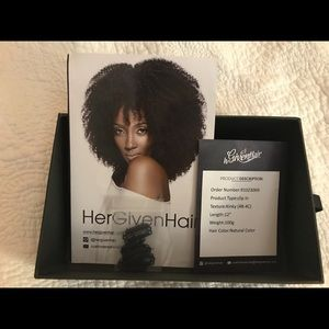 Other - HerGivenHair coily clip-ins
